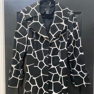 Authentic Original INC Black Giraffe Raincoat